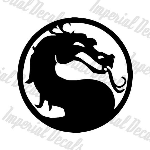 Mortal Kombat Symbol Decal