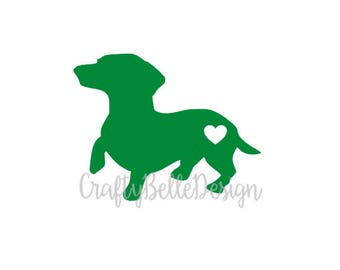 Dachshund Decal | Dachshund Puppy Decal | Dachshund Car Decal | Dachshund Yeti Decal | Dachshund Tumbler Decal | Vinyl