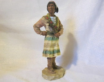 Vintage Collectible Figurine By Castagna Creek Warrior From 1991