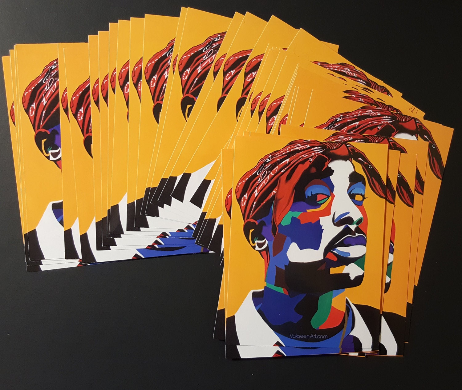 Chang3d Man Vakseen 2Pac Tupac 2Pac Sticker Hip Hop