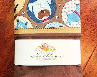 Pillowcase Puppy Print