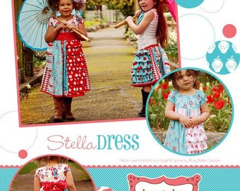 Izzy & Ivy Girls Stella dress pattern
