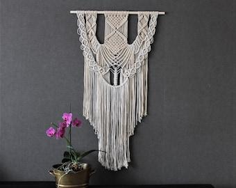 Macrame wall hanging - Giant - Bohemian macrame wall hanging - Handmade - Wall Art - Boho Macrame home decor