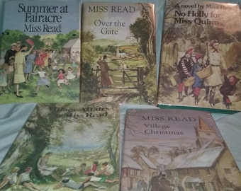 Vintage Fairacre Village Book's By Miss Read Used books