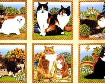 Wilmington Prints - Feline Fine Panel