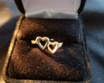 Connected Hearts Ring