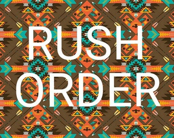 Rush My Order- 1 week Processing- MizThings Processing upgrade