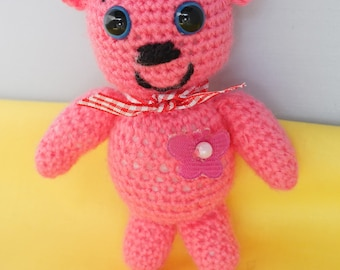 Small pink Teddy Bear - only one item!