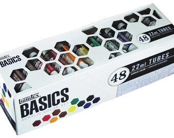 NEW Best Price! Liquitex Basics Acrylic Paint Tube 48-Piece Set - FAST SHIPPING!!!