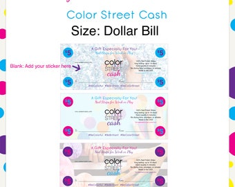 Color Street Cash Style 4 --Instant Digital Download