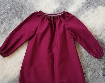 Long Sleeve Seaside Dress