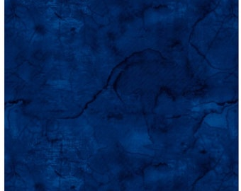 Urban Legend Dark Blue Fabric By Blank Quilting 7101-77 Cotton Fabric Sold By The Half Yard In One Continuous Cut