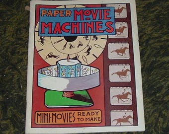 PAPER MOVIE MACHINES (Ready To Make)