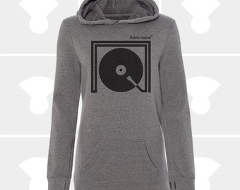 Listen Round - Sweatshirt Dress