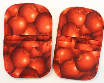 apple magnetic microwave mitts country harvest kitchen aid