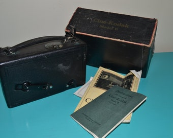 Vintage Cine'-Kodak, Model B Movie Camera, 1920s