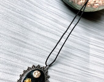 Polymer Clay Shooting Star Necklace