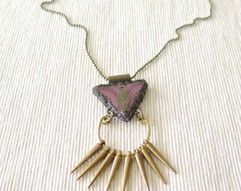 Voodoo Necklace - New Orleans Collection - by Loschy Designs