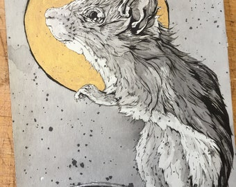 Field Mouse Sketch