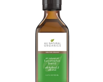 Eucalyptus Oil – Essential Oil – Natural Skin Care, Aromatherapy Oil, Natural Insect Repellant 3.4oz (100ml)