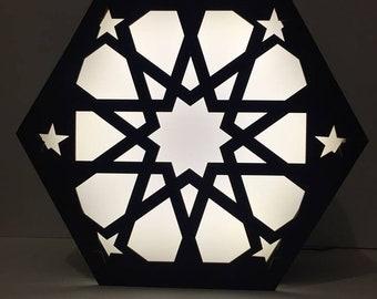 Hexagon Geometric NightLamp