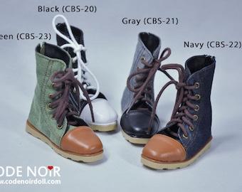 CODENOiR - BJD Shoes / boots for Sd 13 Boy / Sd 17 boy / 1/3 BJD Boy