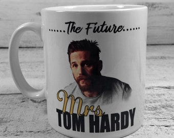 New The Future Mrs Tom Hardy mug gift 11oz cup present