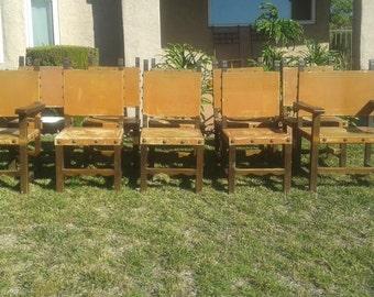 10 Spanish Revival Renaissance Chairs