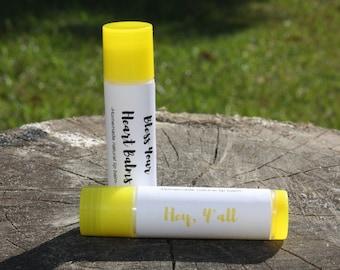 Mango Lip Balm/Homemade Chapstick/Flavor/Scented/Natural Lip Balm/Cocoa Butter/Coconut Oil/Hey Y'all