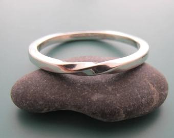 Silver Wedding Band, Dainty Fine Jewelry, Silver Promise Ring, Silver Wedding Band Women, Silver Wedding Band Men, Dainty Everyday Rings,