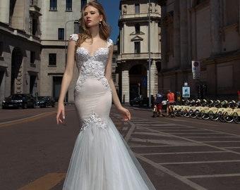 Wedding dress, SAMYRA, unique wedding dress, Exclusive dress