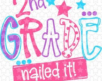 0014 2nd Grade Nailed It Girl
