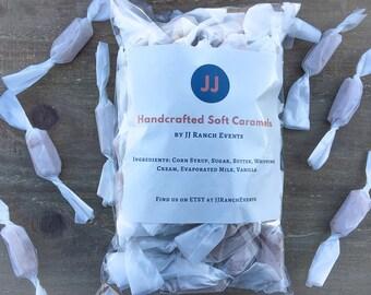 Handcrafted Soft Vanilla Caramels