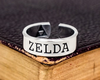 Zelda Ring - - Retro Video Games - Gamer Gift - Gifts for Gamers - Video Game Jewelry