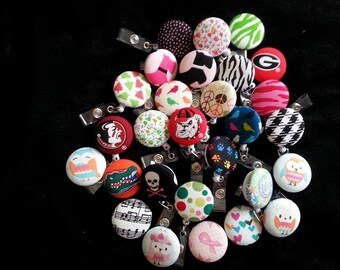 20 Badge Reels Mix and match