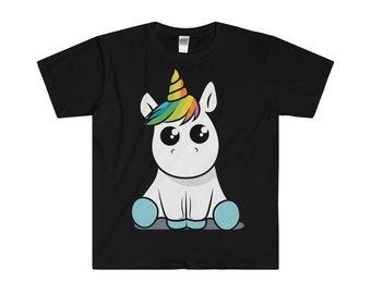 Kawaii Unicorn cotton T-Shirt