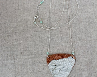 Leafy Sky Necklace