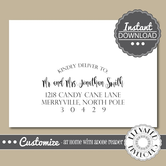 Editable elegant envelope templatewedding envelope addressingevent editable elegant envelope templatewedding envelope addressingeventeverydayrecipient addressingenvelope addressinginstant download from altavistaventures Choice Image