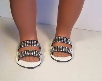 """American Girl Doll sandals! 18"""" doll shoes"""