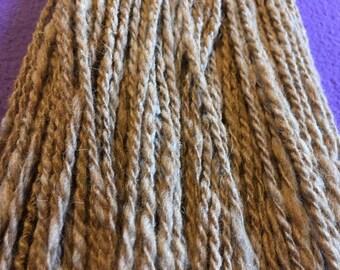 Muddy Alpaca Hand Spun Yarn
