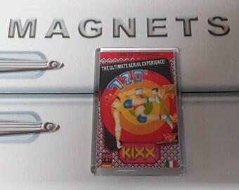 720 Degrees Fridge Magnet. Commodore 64. Skateboarding