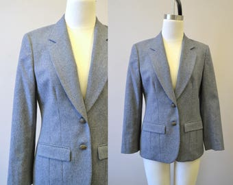 1970s Pendleton Gray Wool Jacket