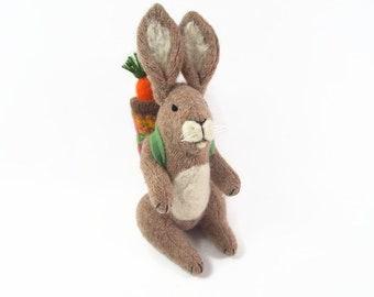 Hase, Osterhase, Ostern Korb Spielzeug, Ostern Hase, Spielzeug Kaninchen, Waldorf Kaninchen Spielzeug Hase,