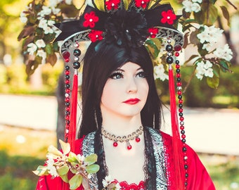 Red Chinese Dress Cosplay