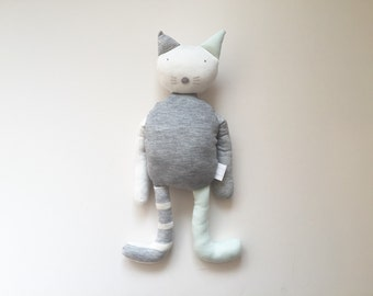 Custom made to order Jacob Cat Stuffed Toy Doll Gift Present Baby Shower Plush Toy choice of colours