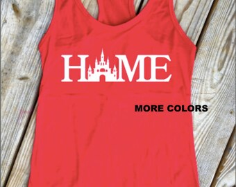 Castle - HOME - Racerback Tank Top
