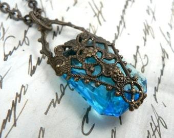 Light of Feanor filigree necklace Tolkien Silmarillion inspired Feanorian Lamp