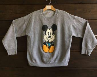 Vintage 90's Mikey Mouse Crewneck