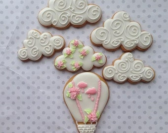 Clouds cookie cutter set #1 3 pcs