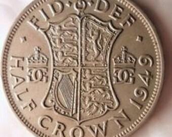 1949  George VI  BritishHalf Crown
